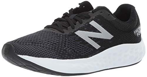New Balance Men's Rise V1 Cushioning Running Shoe, Black/White, 10.5 D US