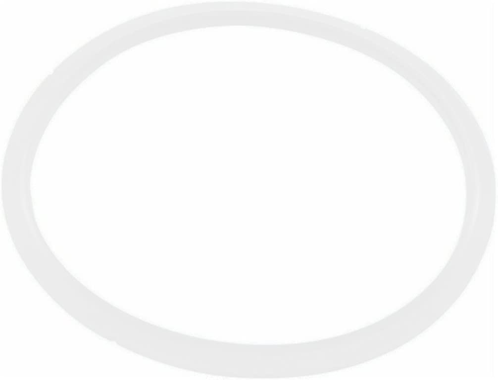 T-fal X9010103 Seal Secure 5 Gasket for Stainless Steel Pressure Cooker Cookware, P25142 4-Quart P25107 6.3-Quart and P25144 8.5-Quart, White