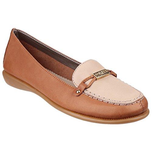 The Flexx - Zapatos casual en contraste modelo Elba para mujer Marrón