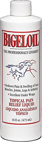 BIGELOIL TOPICAL PAIN RELIEF LIQUID FOR HORSES - 16 (Bigeloil Liquid)