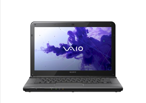 Sony VAIO E Series SVE14132PXB 14-Inch Laptop (Black) (Sony Laptop 14 Inch I3)