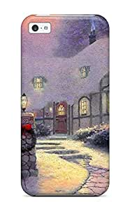 Crystal R Martin Scratch-free Phone Case For Iphone 5c- Retail Packaging - Smartphone Christmas And Screensavers