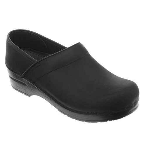 506067878 Women's Black Clog Leather Oiled Dansko 0fwxB5qx