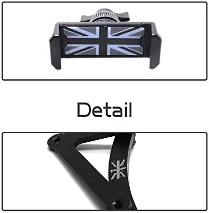 YaaGoo Cell Phone Holder Union Jack for Mini Cooper F54 F55 F56 F60 Car Decoration