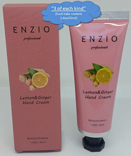 """ENZIO Professional Grade Shea Butter Based Hand Cream Lotion Gift Set """"Party Pack"""" (7 variety x 3 = 21 tubes total) (Free of Parabens, Benzophenone, Talc, and Color Additives) by ENZIO (Image #6)"""