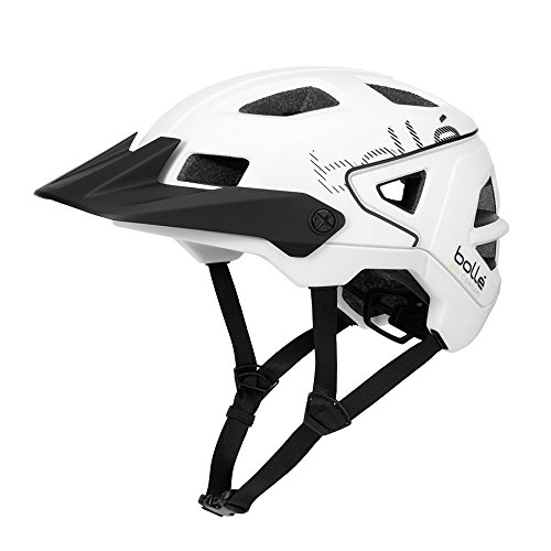 Bolle Adult Trackdown MTB Cycling Helmet White
