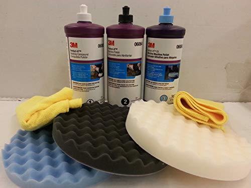 3M Perfect it Buffing & POLISHING KIT Pad Compound Foam 39062 39061 39060 5723 5725 5751