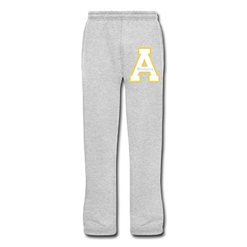 Cozyou Appalachian A Logo University Men Sweatpants Ash XL -