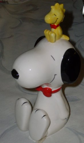 RARE 1990 Willitts Peanuts Snoopy Ceramic Bank Special Edition 40th Anniversary