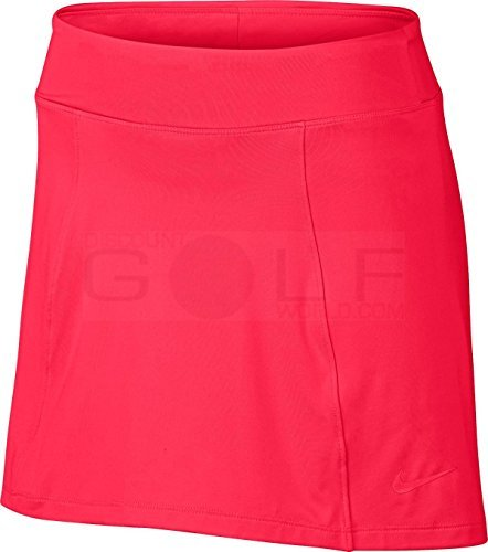 NIKE Women's Precision Knit 2.0 Golf Skort 831458-653 (Size Small) Siren Red by NIKE (Image #1)