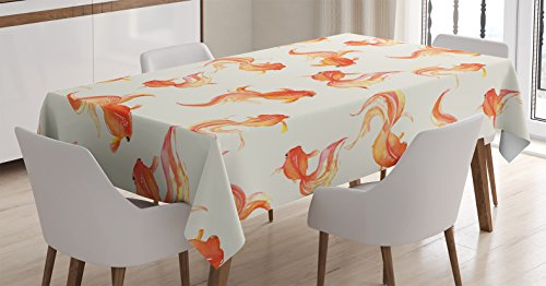Ambesonne Tablecloth Spiritual Illustration Rectangular