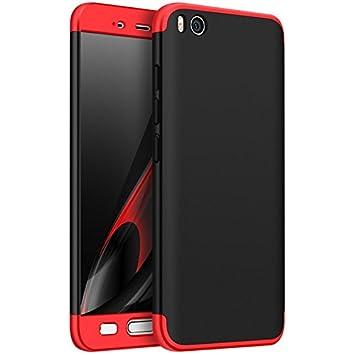 Tmusik Funda Xiaomi Mi5 Mi 5, 360 Grados Integral Carcasa Cuerpo Completo Caso Cubierta, 3 en 1 Híbrido Anti-Choque Snap On Case, Anti-Arañazos ...