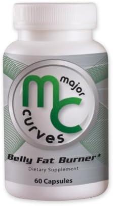 Amazon Com Major Curves Belly Fat Burner 1 Bottle Health Personal Care