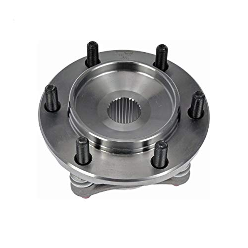 Detroit Axle - 4WD FRONT Wheel Bearing and Hub Assembly for 2010-2016 GX460 - [03-09 GX470] - 2003-2016 4Runner - [07-14 FJ Cruiser] - 05-15 Tacoma 4x4