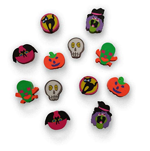 Fun Express Halloween Erasers set of 12 for