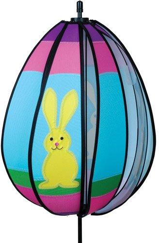 Premier 22347 Wind Garden Spinning Egg Wind Spinner, Bunny