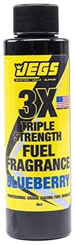 JEGS 63610 Fuel Fragrance Blueberry Scented 4 oz. Bottle Safe for All Internal C