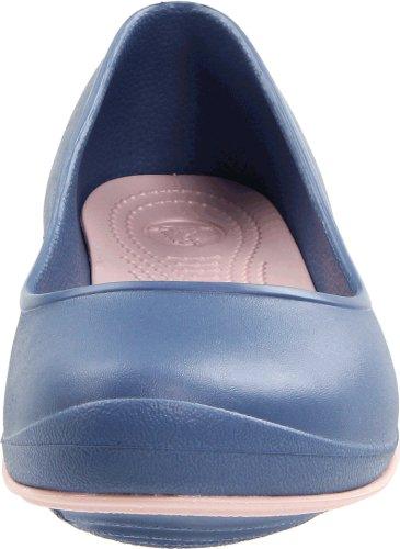crocs - Zapatillas de fitness para mujer Bijou Blue/Cotton Candy