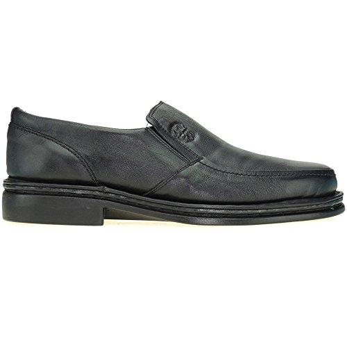 COMODOSPORT. Zapato Llano Confortable Estilo 24 Horas - Modelo 602 NEGRO