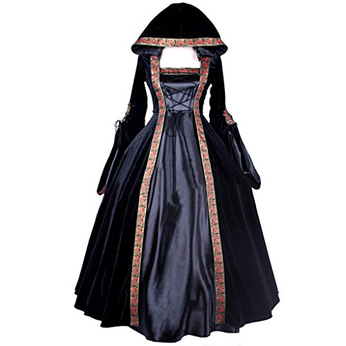 CosplayDiy Women's Deluxe Hooded Collar Victorian Dress Costume XXL by CosplayDiy (Image #1)