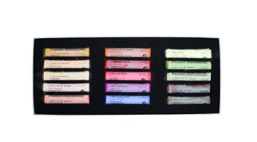 Schmincke Extra-Soft Pastel Portrait Set, Set of 15 Colors (77415097)