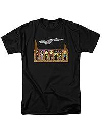 Star Trek The Next Generation Trexel Crew Black T-Shirt   XL