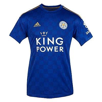 adidas 2019-2020 Leicester City Home Football Soccer T-Shirt Jersey
