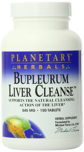 Planetary Herbals Bupleurum Liver Cleanse 545Mg  Supports The Natural Cleansing Action Of The Liver
