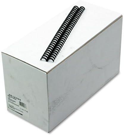 110 Sheet Capacity 5//8 Diameter Black Swingline GBC 100//Box 25-145-17 ProClick Easy Edit Spines DMi BX