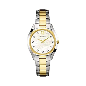 Bulova – 98P145 Two Tone Gold Slim Duet