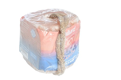 Rock Salt Lick - Milliard 6 lbs Himalayan Salt Lick For Horses, Deer, and Livestock – 6lb Cube With Rope