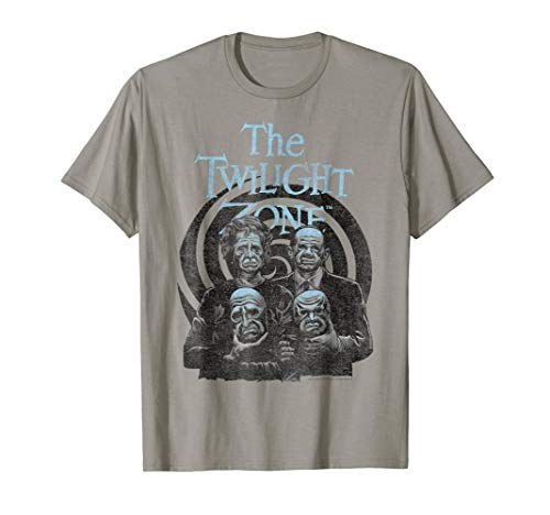 Twilight Zone Take Off The Masks Swirl Graphic T-Shirt