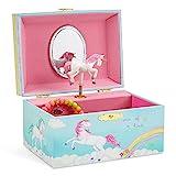 Jewelkeeper Girl's Musical Jewelry Storage Box with