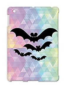 Anti-scuff Halloween Holidays Occasions Bats Bat Black For Ipad 4 Protective Hard Case