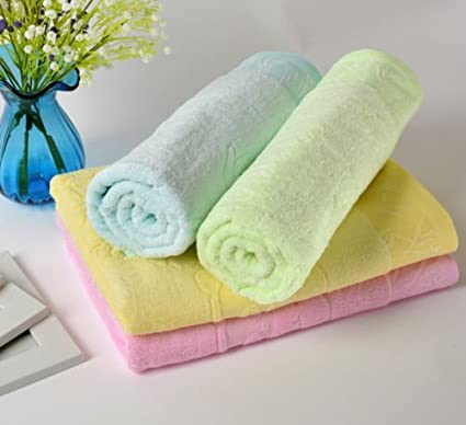 Playa lavar toallas de baño de bambú suave paños