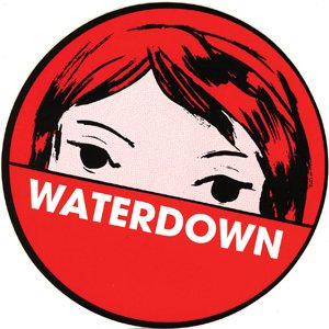 Taking Back Sunday Stickers (WATERDOWN - Logo - Round Sticker)