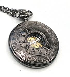 Amazoncom Steampunk Roman Numerals Pocket Watch