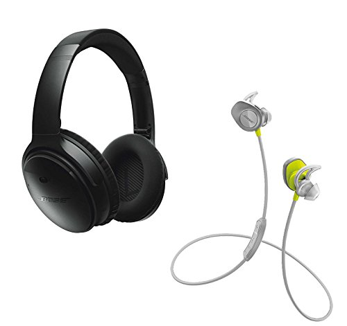 Bose QuietComfort Black SoundSport Citron
