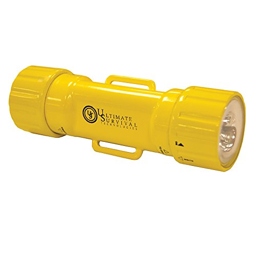 (UST See-Me Waterproof LED Light, USCG Approved, Steady-On and Strobe, Yellow )