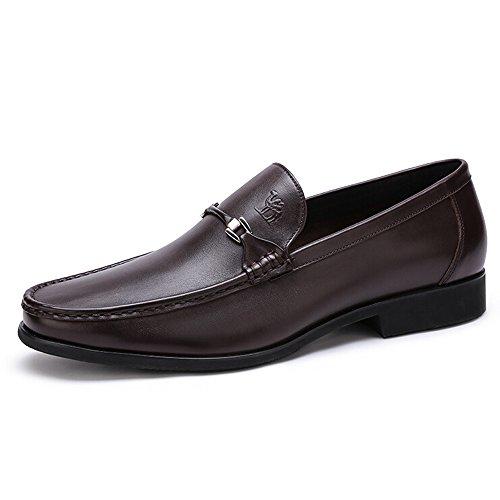 Camel Mens Affaires Cuir Robe Chaussures Couleur Marron Taille 44 M Eu (une Taille Plus Grande Que La Norme)