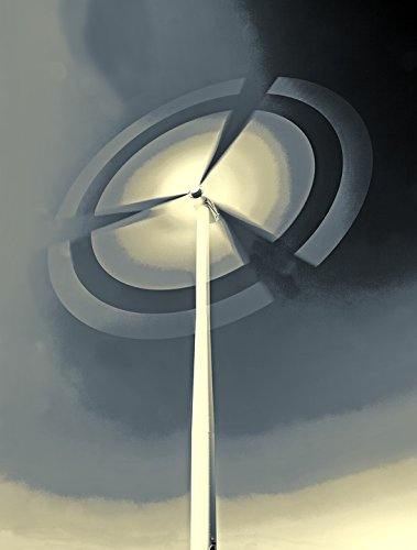 Home Comforts LAMINATED POSTER Energy Wind Power Environmental Technology Pinwheel Poster 24x16 Adhesive Decal