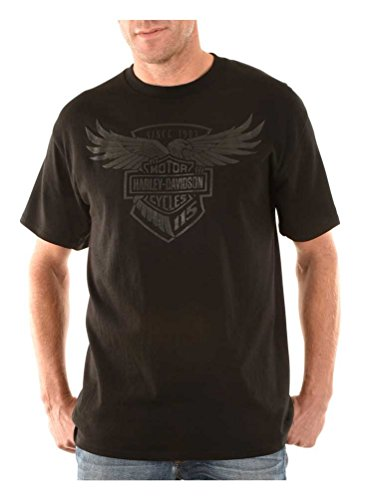 Harley-Davidson Men's 115th Anniversary Touch by Affliction Crew T-Shirt (Anniversary Tee)