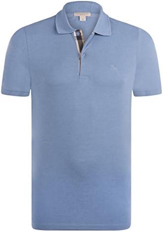 Burberry - Polo - con Botones - para Hombre Azul Celeste Large ...