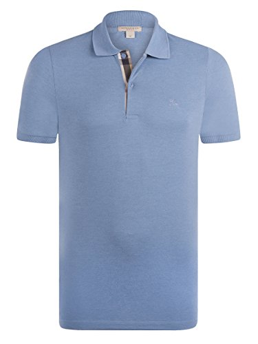 BURBERRY Herren Poloshirt himmelblau