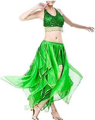 Disfraz de danza del vientre Falda de danza del vientre Falda de ...