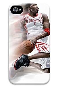 Tracy McGrady NBA Houston Rockets PC Hard new iphone 4 cases for boys
