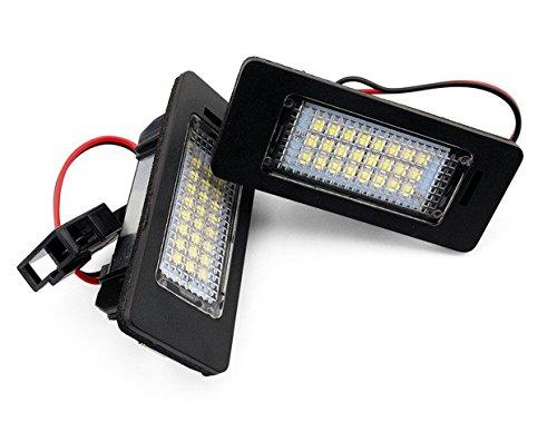 LED Light Lamp License Plate kit Fit For TT 2007 Q5 2008 A4 4D/5D(B8)2008 S5 08 A5 08 PASSAT 5D 2008 PASSAT R36 2008