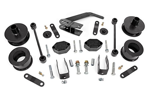 "Rough Country 2.5"" Suspension Lift Kit for 07-18 Jeep Wrangler and Wrangler Unlimited JK - 635"