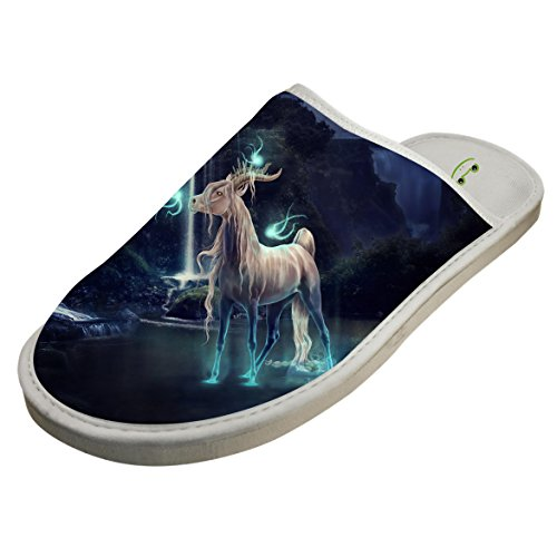 Winter Cotton Deer God Antiskid House Slippers Baboosh Pontoufle by 4B854DF6B