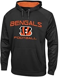 38ac95bce ... Cincinnati Bengals Gridiron Synthetic Mens Pullover Hoodie Big Tall  Sizes